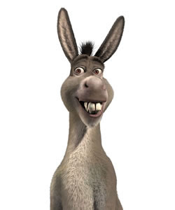 Image result for talking donkey
